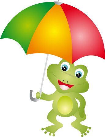 animal shelter: Frog vector