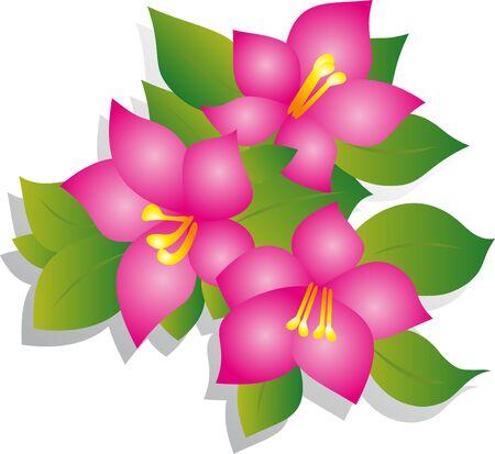 Flower vector Stock Vector - 9287859