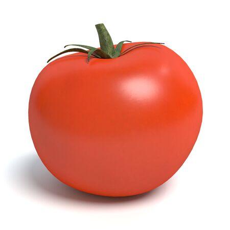トマトの 3 d イラストレーション