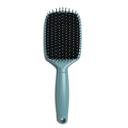 3d illustration of a hair brush Imagens