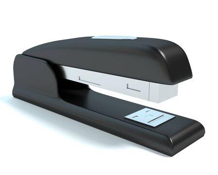 3d illustration of a stapler