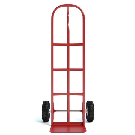 hand truck: 3d illustration of a hand truck Stock Photo
