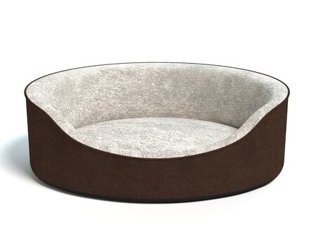 3d illustration of a pet bed
