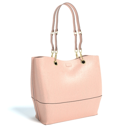 3d illustration of a handbag 免版税图像