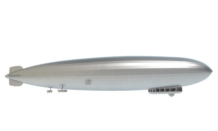 graf: 3d illustration of the Graf Zeppelin
