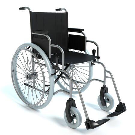 車椅子の 3 d イラストレーション