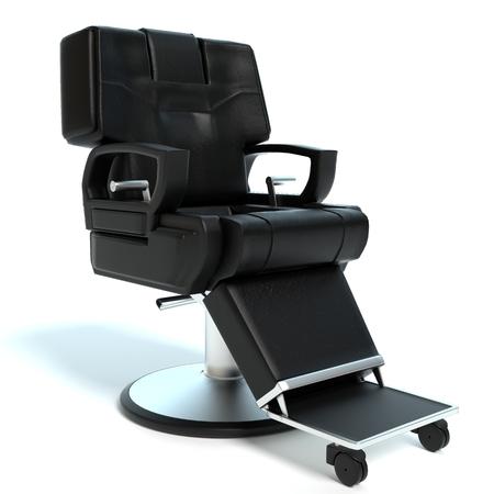 理髪店の椅子