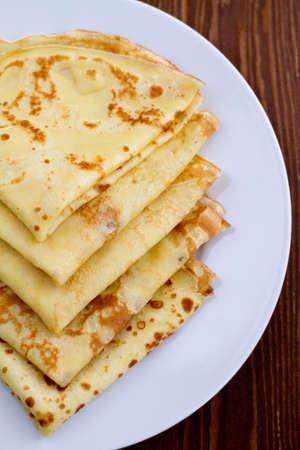 Russian blini pancakes