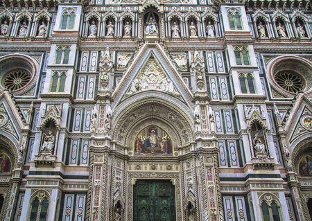 santa maria: Santa Maria del Fiore, Florences main church. Stock Photo