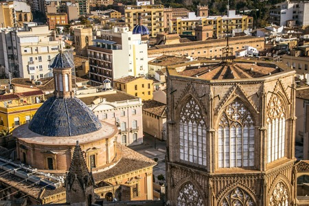 Beautiful Spanish city of Valencia. Photos of the historic center