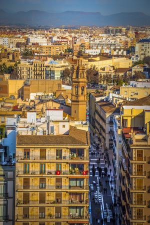 Beautiful Spanish city of Valencia. Photos of the historic center.