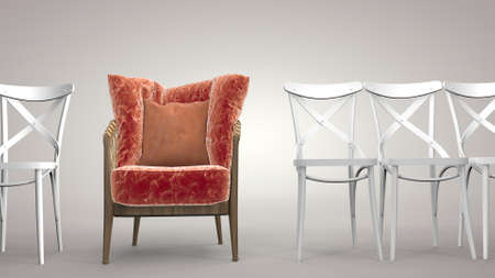 Individuality to stand out among the chairs