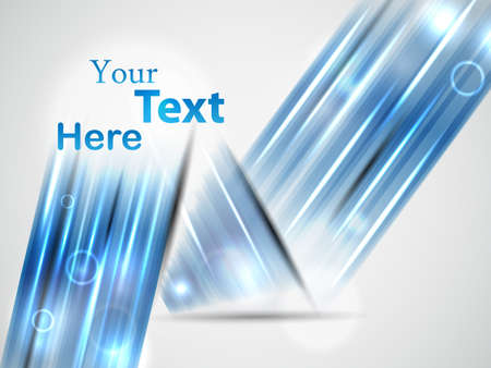 blue abstract template. vector illustration