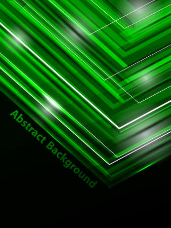 neon abstract template illustration