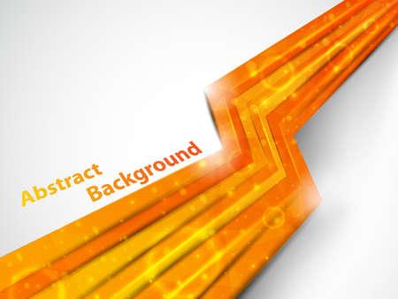 perspective orange background illustration