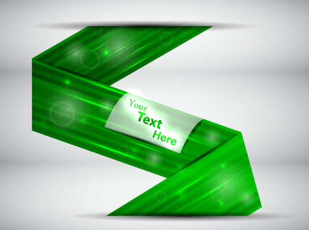 green abstract card  illustration