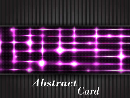 abstract dark card illustration Illustration