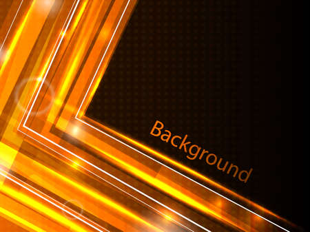 orange business background illustration Vector