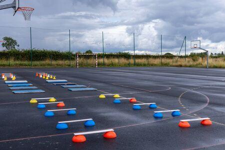 training equipment athletics for children, material for training class