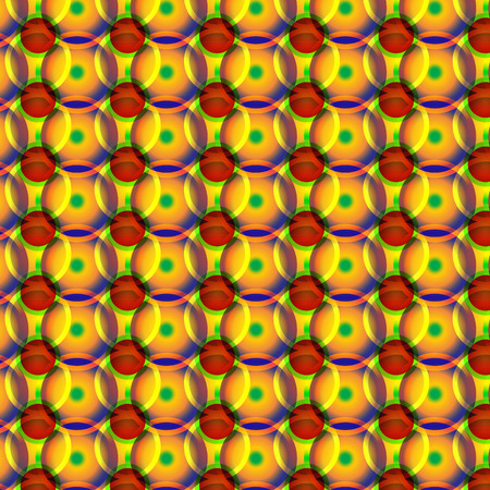 red' green: yellow red green wheels pattern Illustration