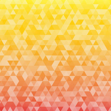 imposition: abstract consisting of geometrical shapes orange yellow
