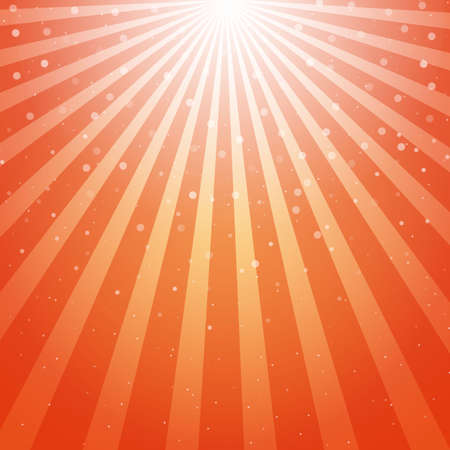 sun rays: abstract backgound with Sun Rays and Bubbles Vector