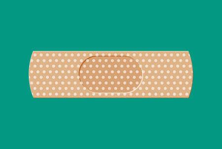 skin injury: aid medical plaster
