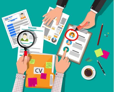 Personalmanagement-Konzept Vektorgrafik