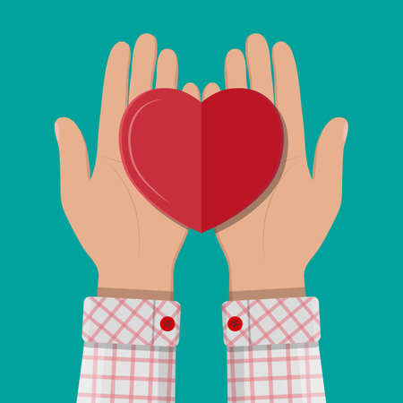 assisting: Hands giving red heart.