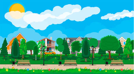Suburb park concept