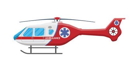 helicóptero de ambulancia