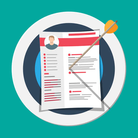 Resume documents pinned to target
