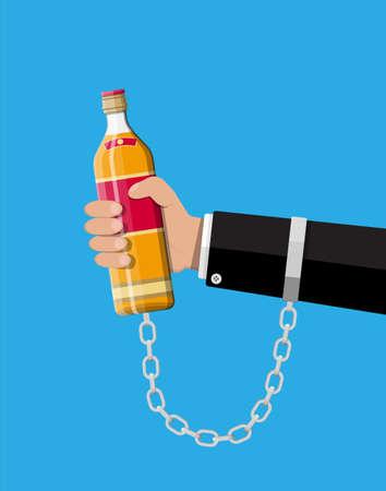 concept de l & # 39 ; alcool
