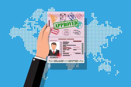 ID card icon. Identity card, national id card