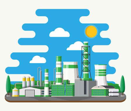 Green eco plant Stock Vector - 115978236