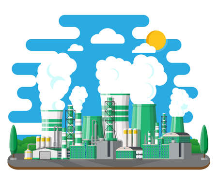 Green eco plant Illustration