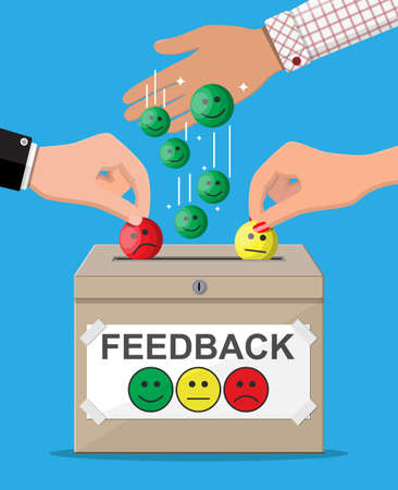 Rating box. Reviews smiles.