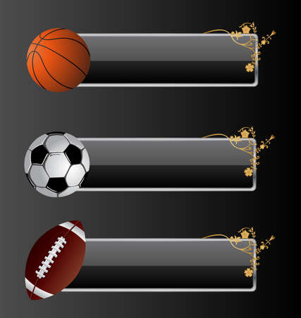 Vector banners for your text. Stock Vector - 5198848
