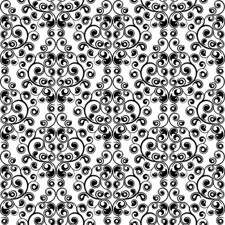 Seamless floral texture. Vector illustration. Stock Vector - 6008200