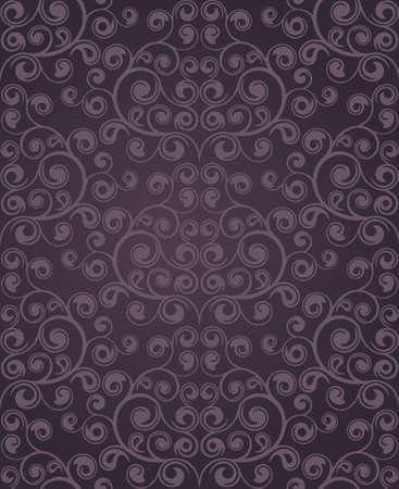 Seamless floral pattern.  Vector