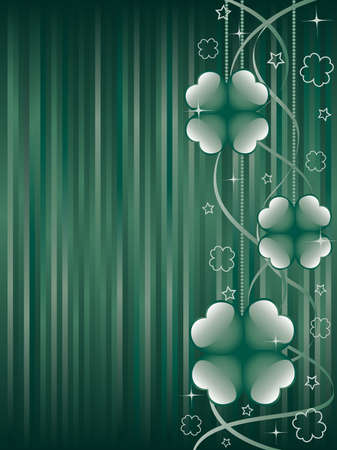 St. Patricks day background.  Vector