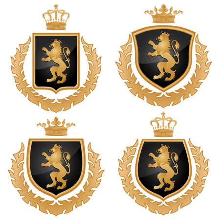 heraldic lion: Coat of arms