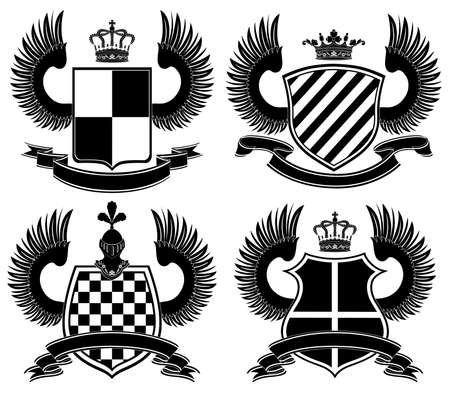 Coat of arms Stock Vector - 6651013