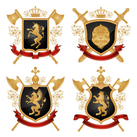 Coat of arms.  Vector
