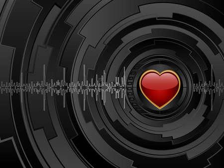 love wallpaper: Fondo futurista de amor