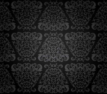 Seamless floral pattern Stock Vector - 9046506