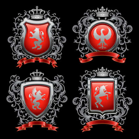 Coat of arms Stock Vector - 9113541