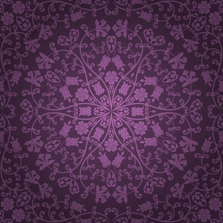 Seamless floral pattern Stock Vector - 9167048