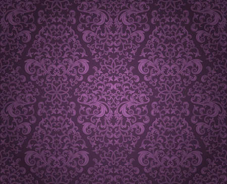 Seamless floral pattern Stock Vector - 9231546