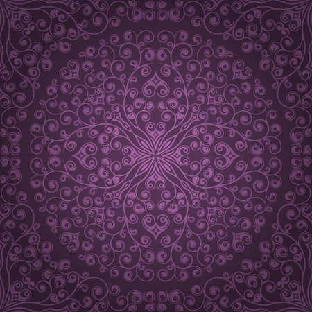 purple wallpaper: Seamless floral pattern